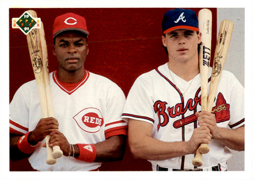 1991 Upper Deck Reggie Sanders and Ryan Klesko