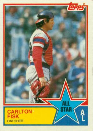 1977 Topps Carlton Fisk