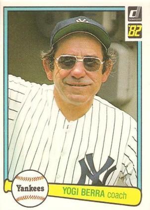 1982 Donruss Yogi Berra