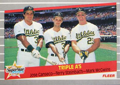 1989 Fleer Triple A's